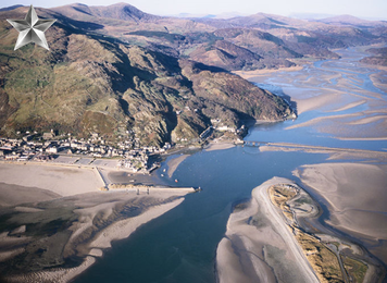 Birdseye View Barmouth